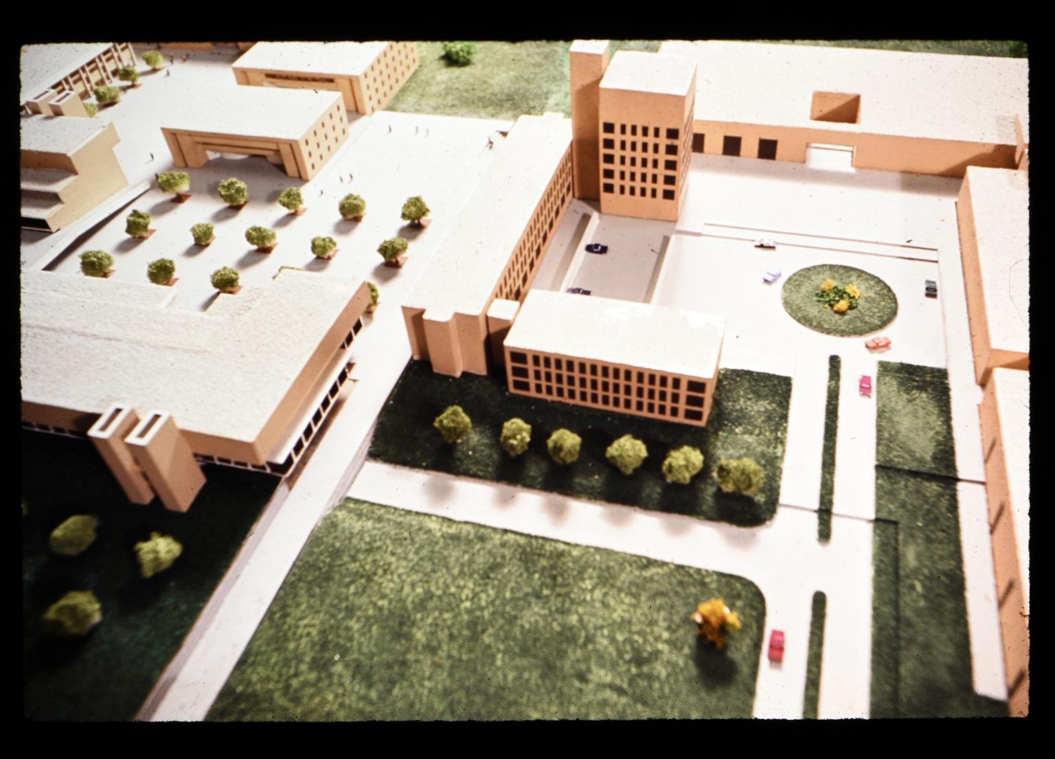 3-D model of proposed RIT campus
