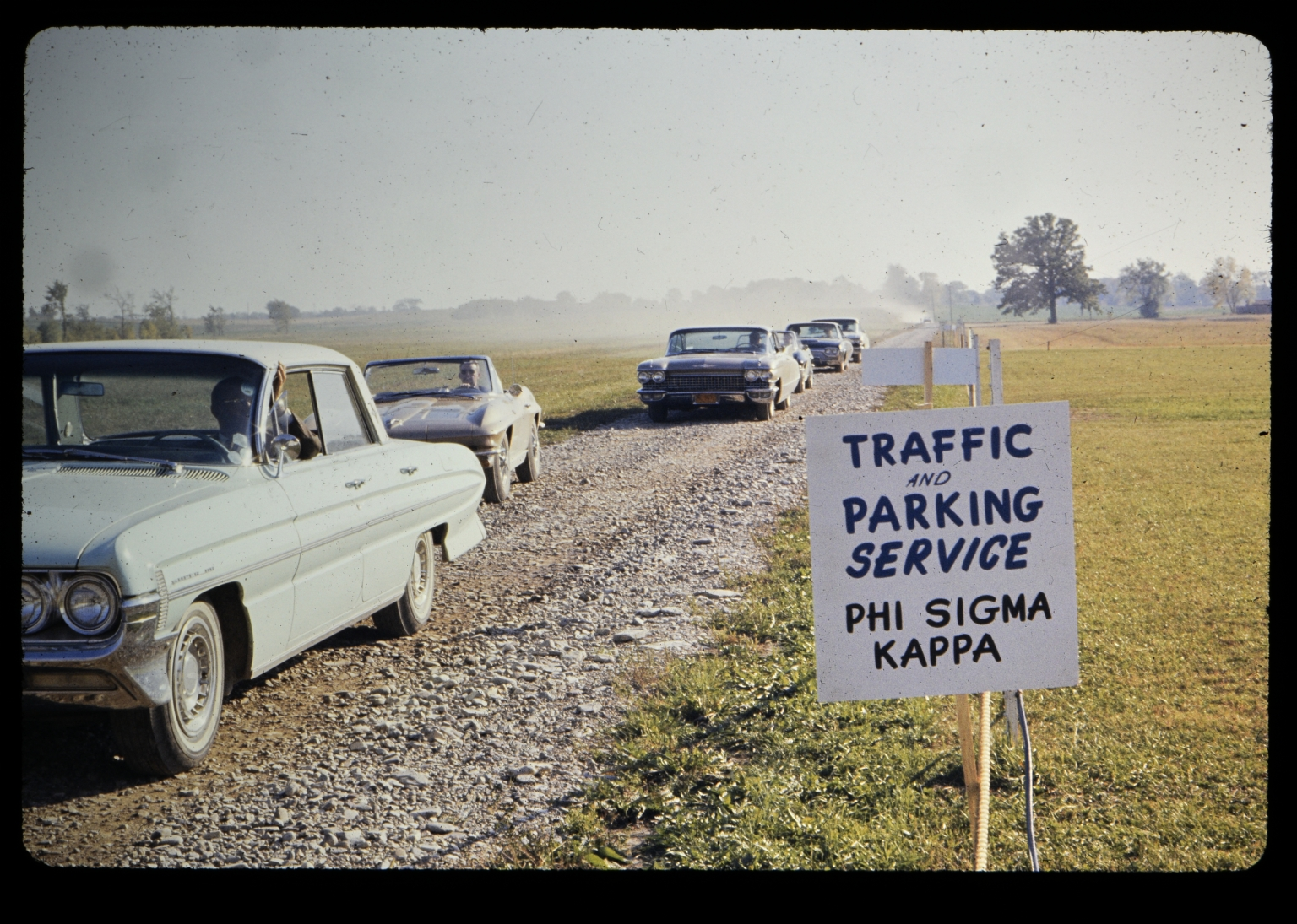 Traffic and parking service