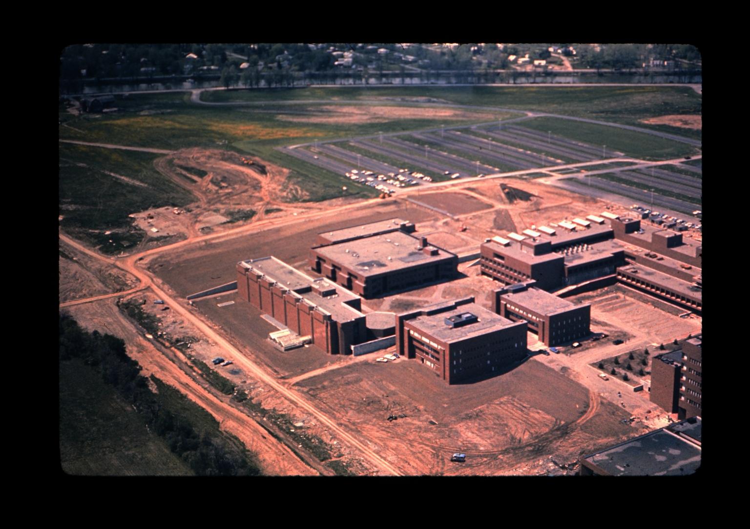 Aerial photograph of RIT campus