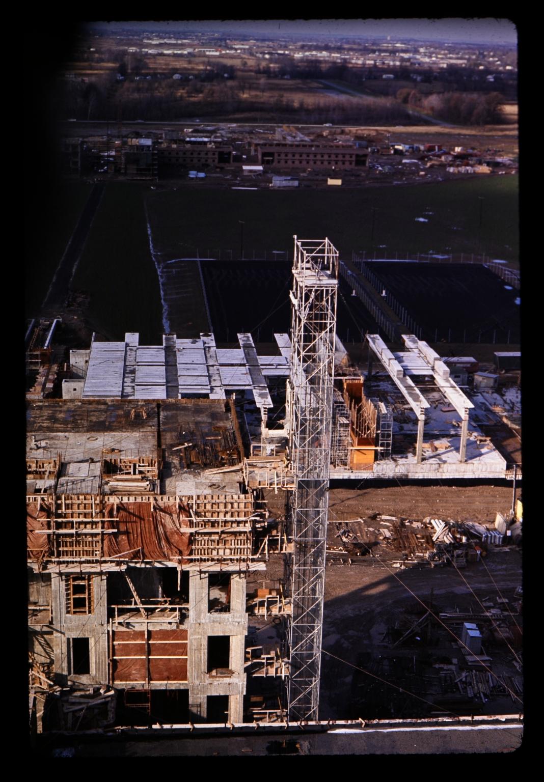 Construction of Henrietta campus