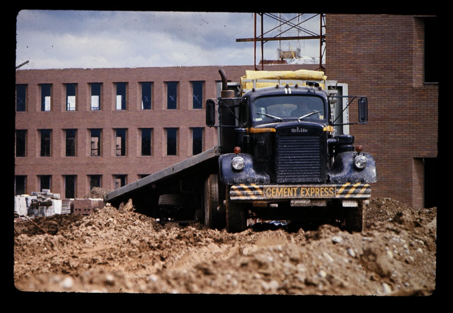 Cement Express truck