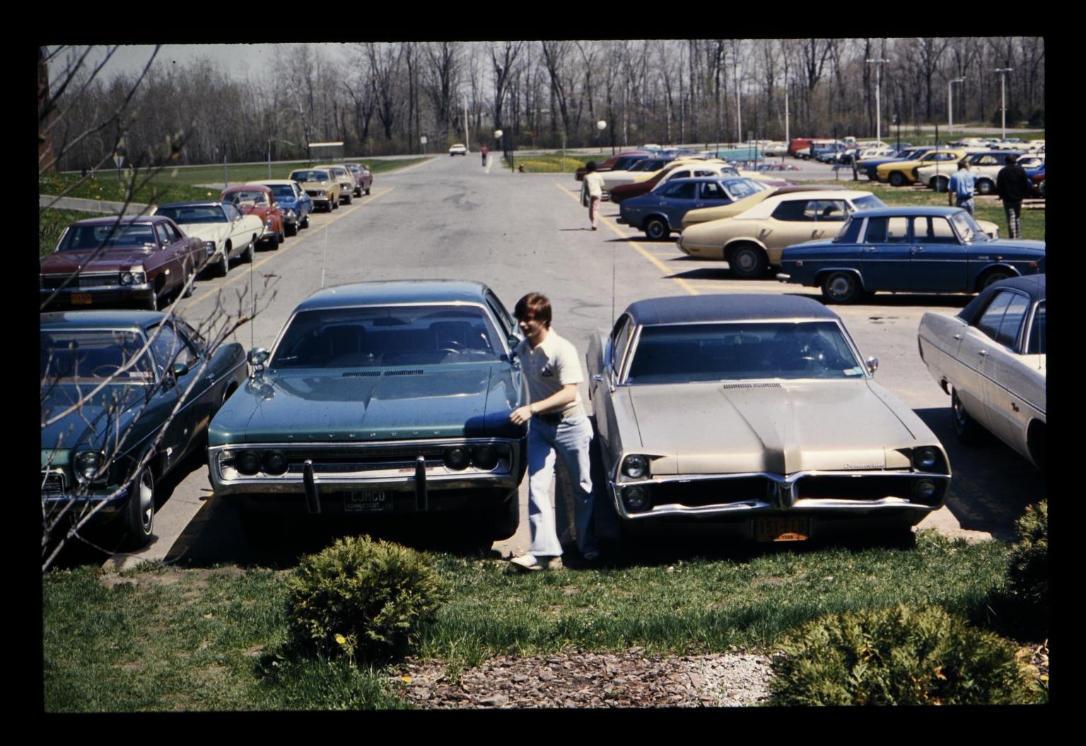 RIT parking lot