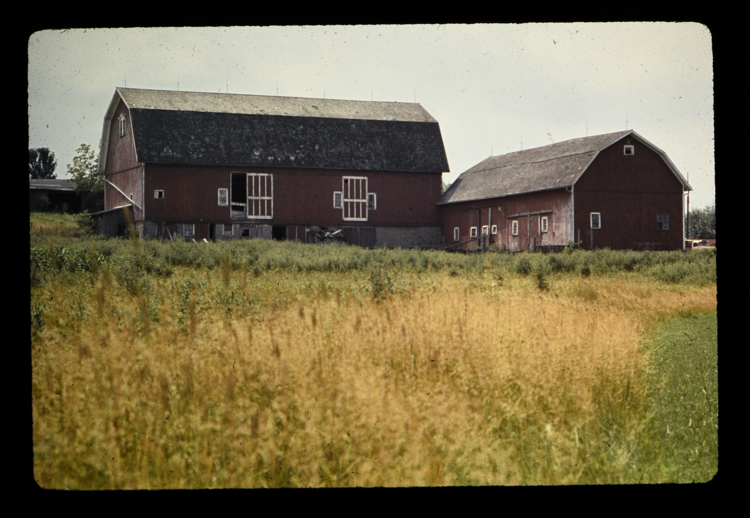 Original red barn