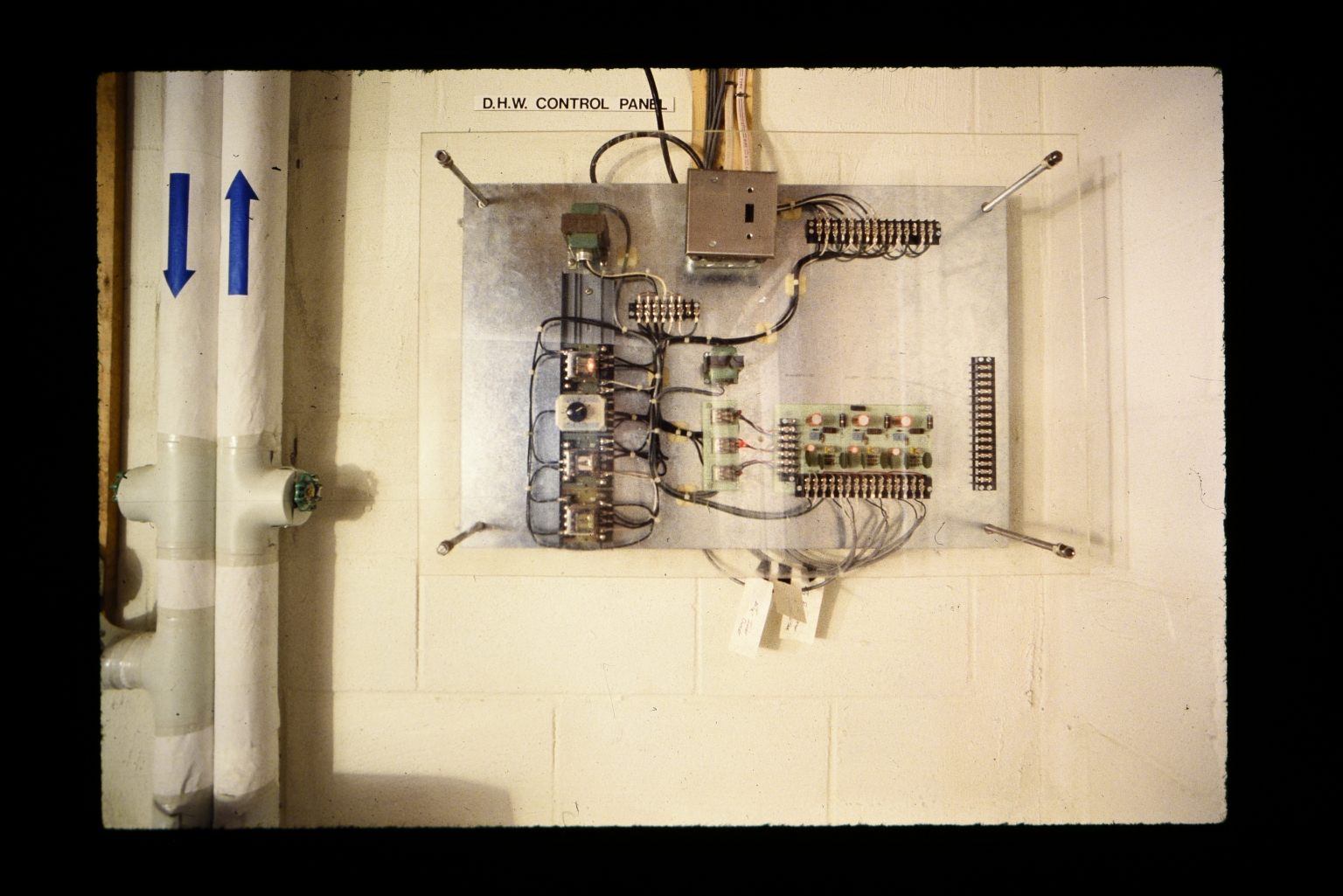 Energy House control panel