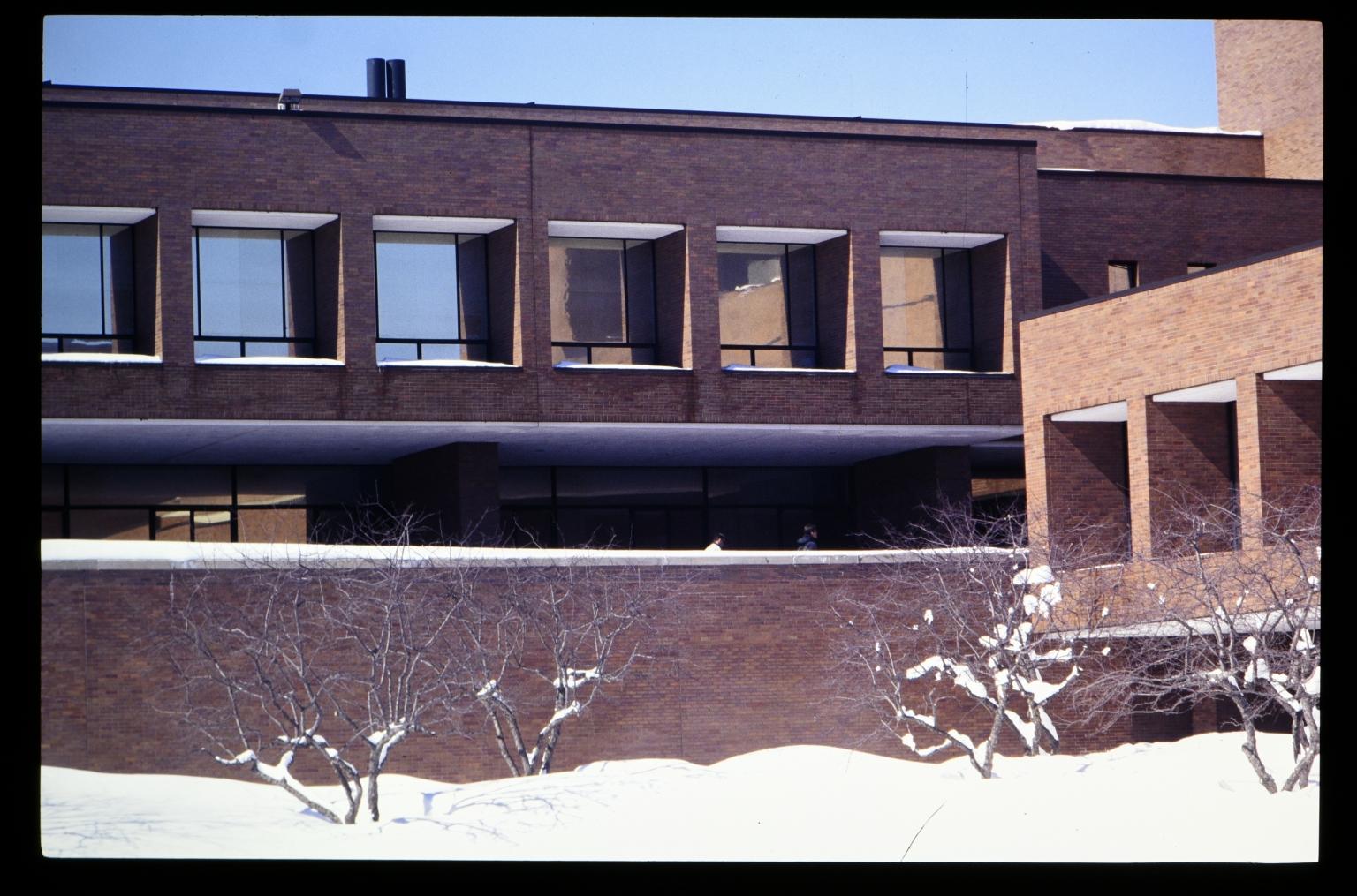 Winter on campus