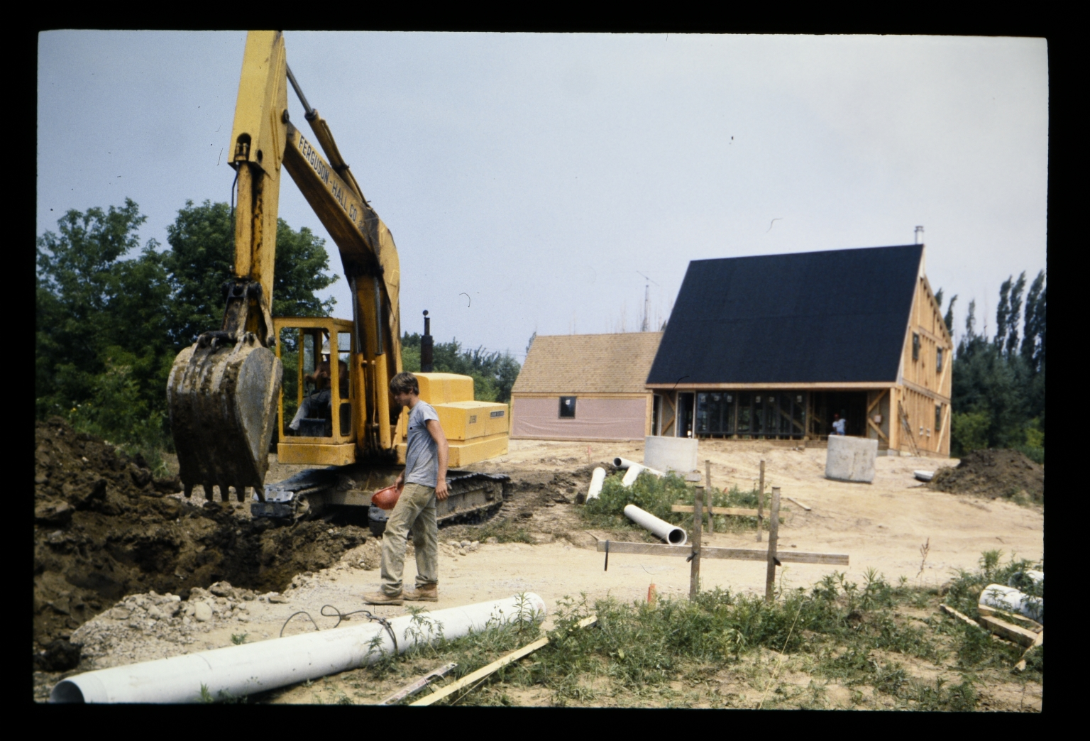 Construction site of Energy House