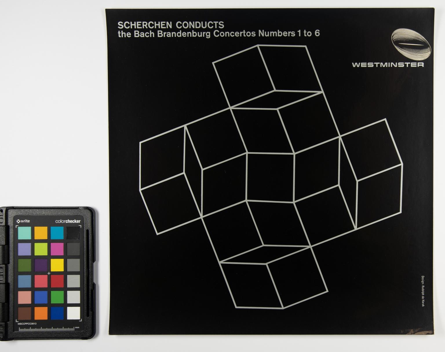 Scherchen Conducts: The Bach Brandenburg Concertos Numbers 1 to 6