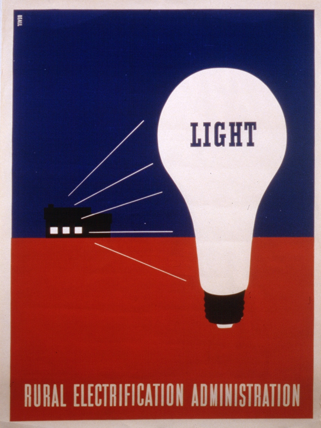 Light : Rural Electrification Administration