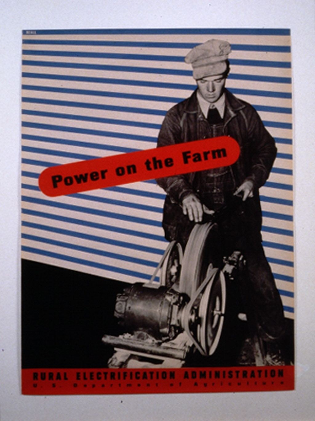 Power on the farm : Rural Electrification Administration