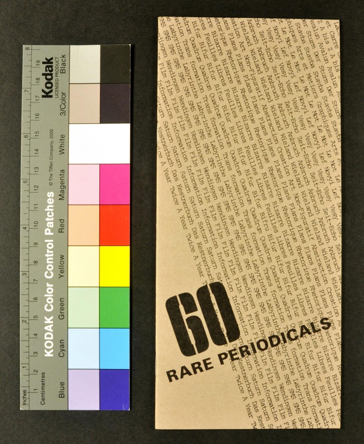 60 Rare Periodicals