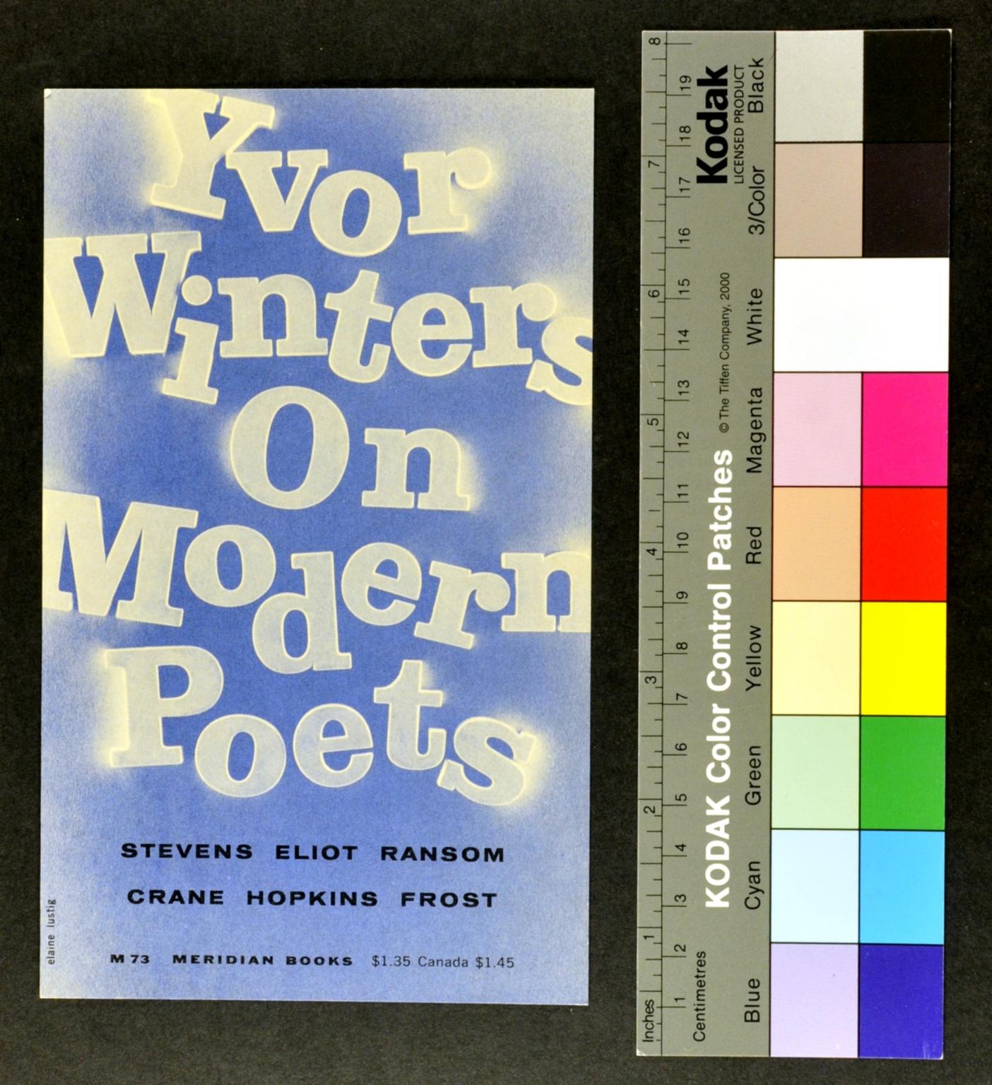 Yvor Winters On Modern Poets